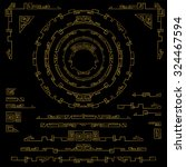 geometry decoration elements... | Shutterstock .eps vector #324467594