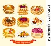 Pancake  Waffle And Crepe...