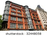 historic state building in... | Shutterstock . vector #32448058