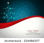 christmas greeting card  | Shutterstock .eps vector #324486557