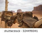 Saddle And Red Rocks In...