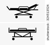 hospital bed   Shutterstock .eps vector #324513524