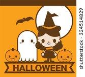 halloween cute | Shutterstock .eps vector #324514829