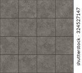 seamless texture of gray tiles. ... | Shutterstock . vector #324527147