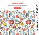 abstract medicine background.... | Shutterstock .eps vector #324547301