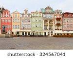 renaissance houses  on the... | Shutterstock . vector #324567041