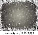 elegant christmas greeting card ... | Shutterstock .eps vector #324583121