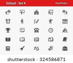 school icons. professional ... | Shutterstock .eps vector #324586871