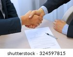 close up image of a firm... | Shutterstock . vector #324597815