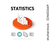 statistics icon  vector symbol...