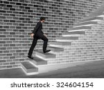 concept or conceptual 3d male... | Shutterstock . vector #324604154