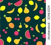 fruit | Shutterstock .eps vector #32461024