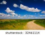 beautiful summer landscape | Shutterstock . vector #32461114