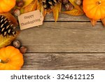 Happy Thanksgiving Gift Tag...