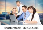 business meeting. | Shutterstock . vector #324616301