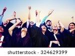 student celebration education... | Shutterstock . vector #324629399