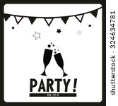 party illustration over white... | Shutterstock .eps vector #324634781