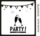 party illustration over white... | Shutterstock .eps vector #324634781
