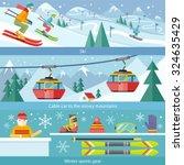 Concept Skiing Winter Sport...