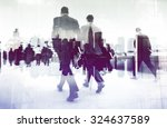 abstract image of business... | Shutterstock . vector #324637589
