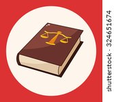 law book theme elements | Shutterstock .eps vector #324651674