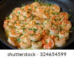 Shrimp Scampi Sauteed In Butte...