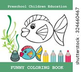 coloring book for children... | Shutterstock .eps vector #324660467