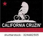 bike bear   Shutterstock .eps vector #324682505