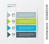 banner design set  green  blue  ... | Shutterstock .eps vector #324683144