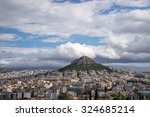 View Of Athens And Mount...