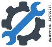 service tools vector icon....   Shutterstock .eps vector #324703334