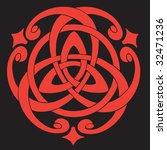 vector illustration of celtic... | Shutterstock .eps vector #32471236