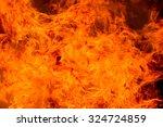 fire background | Shutterstock . vector #324724859