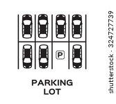 Top View Parking Lot Design....