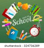 back to school concept design... | Shutterstock . vector #324736289