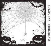 halloween background   Shutterstock .eps vector #324739649