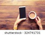 mobile phone | Shutterstock . vector #324741731