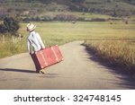 child on the road   Shutterstock . vector #324748145
