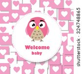 welcome baby | Shutterstock .eps vector #324748865