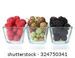 raspberry  blackberry and... | Shutterstock . vector #324750341