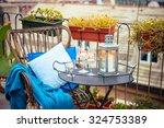 Beautiful Terrace Or Balcony...