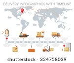 Delivery Infographics With...