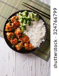 General Tso's Chicken With Ric...