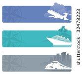 travel banners | Shutterstock .eps vector #32478223