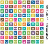 insurance 100 icons universal...