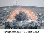 an explosion after an apparent...
