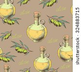 vintage seamless pattern with... | Shutterstock .eps vector #324883715