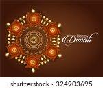 vector illustration or greeting ... | Shutterstock .eps vector #324903695