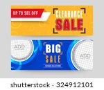 creative website header or... | Shutterstock .eps vector #324912101