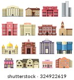 Flat Colorful Vector City...